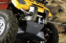 T-Max® - Winch on ATV