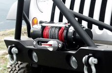 T-Max® - Off-Road Winch on Jeep