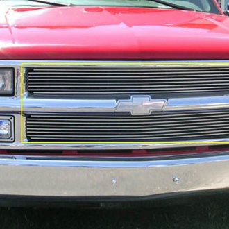 T-Rex® - 2-Pc Horizontal Polished Billet Main Grille Insert