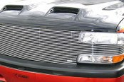 "T-Rex® - 1-Pc ""Full Face"" Horizontal Polished Billet Main Grille"