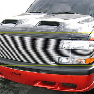 T-Rex® - 1-Pc Full Face Horizontal Polished Billet Main Grille