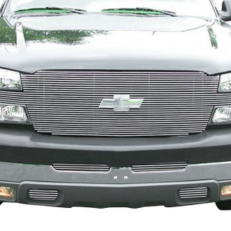 "T-Rex® - 1-Pc ""Full Face"" Horizontal Polished Billet Grille"