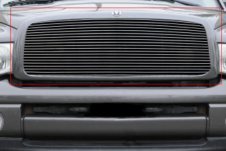T-Rex® 20461 - 1-Pc Horizontal Polished Billet Main Grille