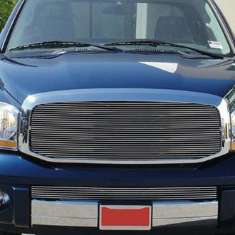 T-Rex® - 1-Pc Horizontal Polished Full Opening Billet Grille