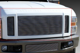T-Rex® 20563 - 3-Pc Horizontal Polished Billet Main Grille Insert