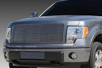 T-Rex® - 1-Pc Horizontal Polished Billet Grille