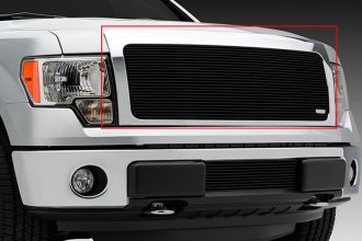 T-Rex® 20572B - 1-Pc Horizontal Black Billet Main Grille