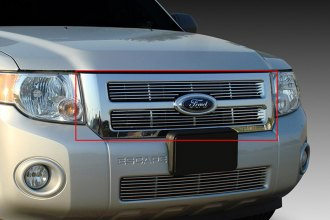 T-Rex® 20649 - 2-Pc Horizontal Polished Billet Main Grille