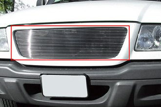T-Rex® 20688 - 1-Pc Horizontal Polished Billet Main Grille