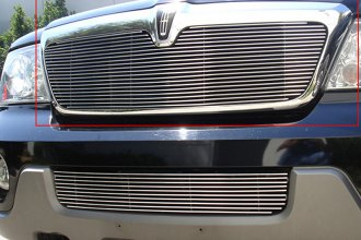 T-Rex® 20695 - 1-Pc Horizontal Polished Billet Main Grille Insert