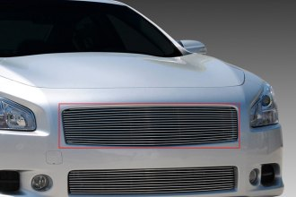 T-Rex® 20758 - 1-Pc Horizontal Polished Billet Main Grille Insert