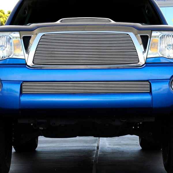T-Rex® - 1-Pc Horizontal Polished Billet Main Grille