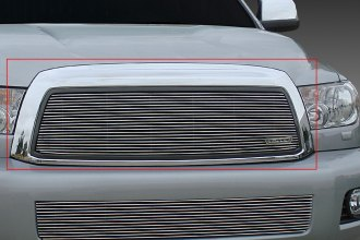 T-Rex® 20903 - 1-Pc Horizontal Polished Billet Main Grille Insert