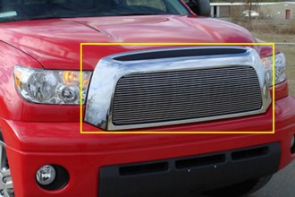 T-Rex® 20959 - 1-Pc Horizontal Polished Billet Main Grille