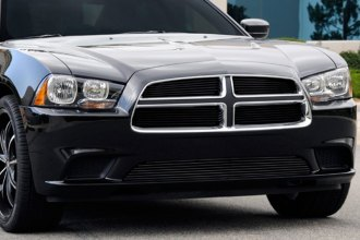 T-Rex® - 4-Pc Horizontal Black Billet Grille