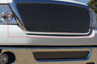 T-Rex® 21556 - 1-Pc Horizontal Polished Billet Main Grille