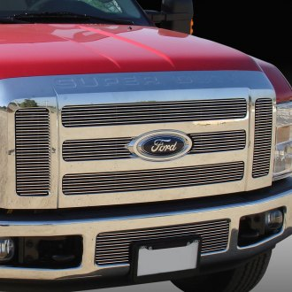 T-Rex® - 6-Pc Horizontal Polished Billet Grille