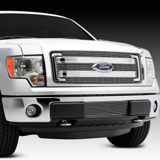 T-Rex® - 4-Pc Horizontal Polished Billet Grille