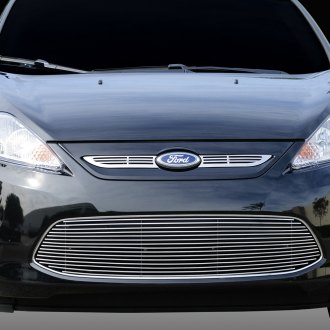 T-Rex® - 2-Pc Horizontal Polished Billet Grille