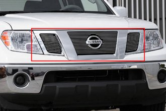 T-Rex® 21774 - 3-Pc Horizontal Polished Billet Main Grille