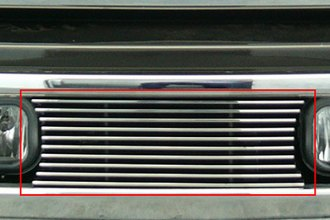 T-Rex® 25562 - Horizontal Polished Billet Bumper Grille