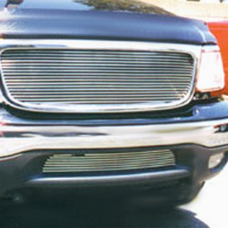 T-Rex® - Horizontal Polished Billet Grille with Paintable Shell