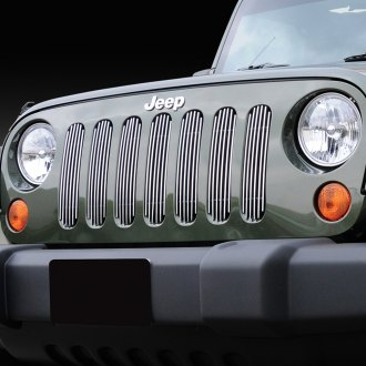 T-Rex® - 7-Pc Vertical Polished Billet Grille