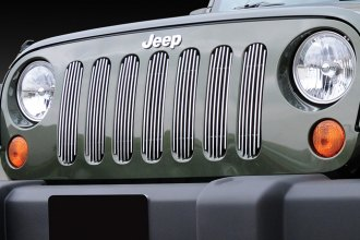 T-Rex® - 7-Pc Vertical Polished Billet Grille Insert