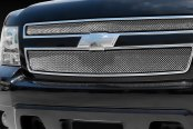 T-Rex® - 2-Pc Sport Series Triple Chrome Plated Formed Mesh Main Grille