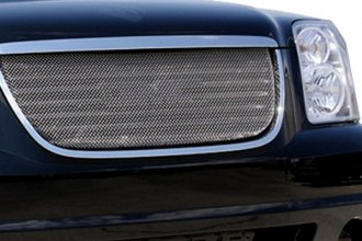 T-Rex® - 1-Pc Sport Series Chrome Mesh Grille