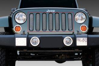 T-Rex® 44481 - Sport Series Chrome Mesh Main Grille