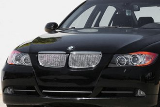T-Rex® - 2-Pc Sport Series Chrome Mesh Grille