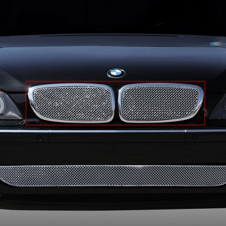 T-Rex® - 2-Pc Sport Series Chrome Mesh Main Grille