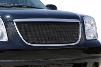 T-Rex® - 1-Pc Sport Series Black Mesh Grille