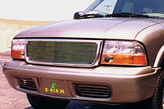 T-Rex® - 1-Pc Horizontal Chrome Billet Grille