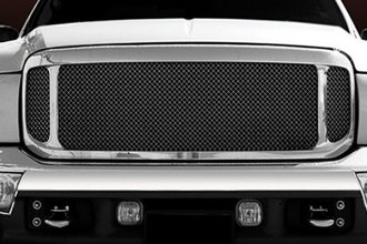 T-Rex® - 3-Pc Look Polished Mesh Grille