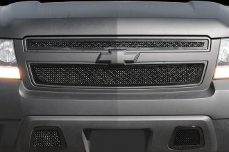 T-Rex® - 2-Pc Upper Class Series 2 Pc Style Black Mesh Grille