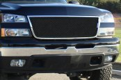 T-Rex® - 1-Pc Upper Class Series Black Mesh Main Grille