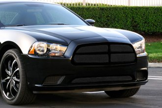 T-Rex® - 4-Pc Look Upper Class Series Black Mesh Grille