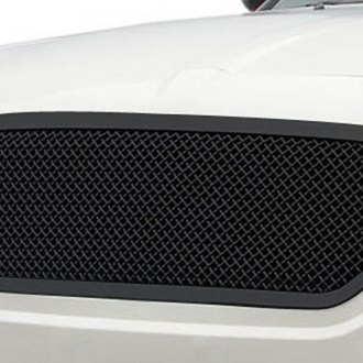 T-Rex® - 1-Pc Upper Class Series Black Full Opening Mesh Grille