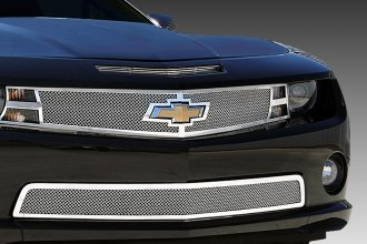 T-Rex® - 2-Pc Upper Class Series Polished Mesh Grille