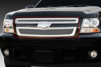 T-Rex® 54051 - 2-Pc Upper Class Series Polished Mesh Main Grille