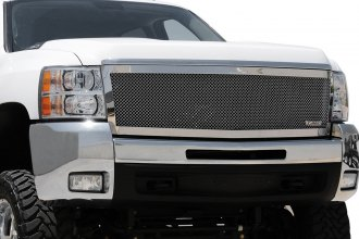 T-Rex® - Upper Class Series Black Polished Mesh Main Grille