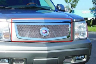 T-Rex® 54182 - 1-Pc Upper Class Series Polished Mesh Main Grille