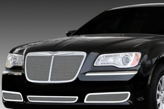 T-Rex® - 1-Pc Upper Class Series Bentley Style Polished Mesh Grille