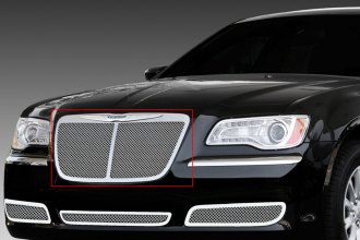 T-Rex® 54434 - Upper Class Series Bentley Style Polished Mesh Main Grille