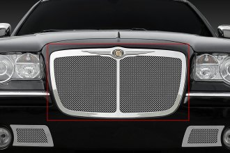 T-Rex® 54479 - 1-Pc Upper Class Series Bentley Style Polished Mesh Main Grille