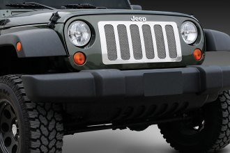 T-Rex® - 6-Pc Look Upper Class Series Polished Mesh Grille