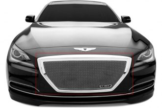 T-Rex® 54499 - 1-Pc Upper Class Series Polished Mesh Main Grille