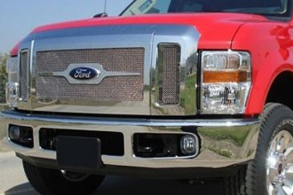 T-Rex® - 3-Pc Upper Class Series Polished Mesh Grille